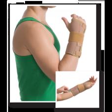 Бандаж MedTextile 8551 на промінево-зап`ястковий суглоб з ребрами жорсткості, р.S/M