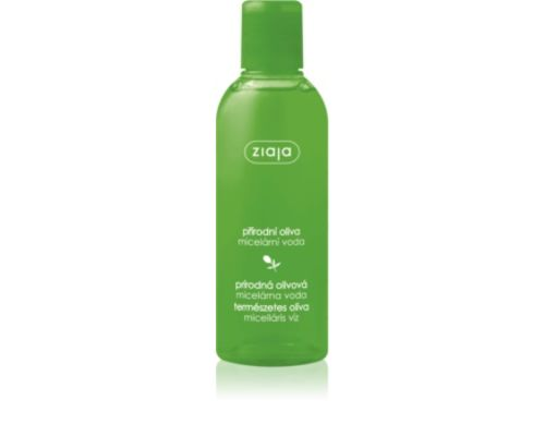 Міцелярна очищуюча вода Ziaja Natural Olive з екстрактом оливи 200 мл
