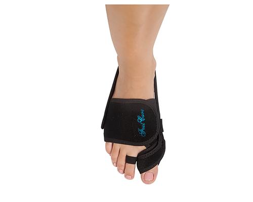 Бандаж вальгусний Foot Care SM-03 р.М чорний (правий)