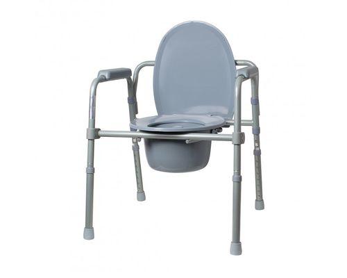 Крісло-стілець Ridni Care KJT717 з санітарним оснащенням, регульоване, складне