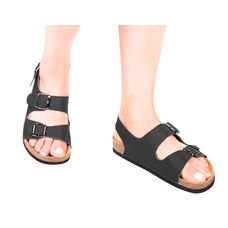 Анатомічні сандалі Foot Care FA-101 р.44 чорні