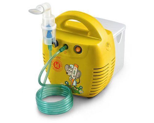 Інгалятор компресорний Little Doctor LD-211C жовтий