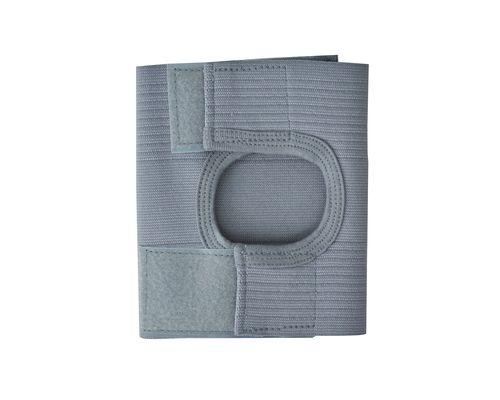 Бандаж на колінний суглоб з відкритою чашечкою Алком 3002 р.5 сірий