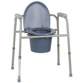 Крісло-туалет OSD-BL710113 регульоване за висотою, нескладне