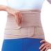 Бандаж для спини зігріваючий з 6 ребрами жорсткості Ortop EB-537 р.L/XL бежевий