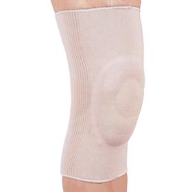 Бандаж на колінний суглоб з гелевим кільцем еластичний Ortop ES-710 р.M бежевий