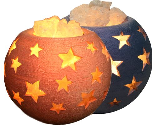 Соляна лампа Молочний шлях кераміка