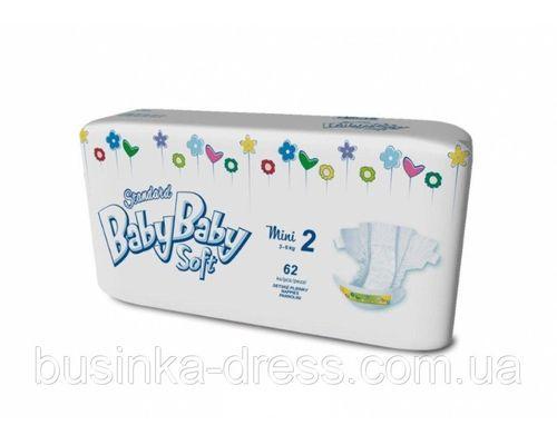 Підгузники BabyBaby Soft Standart Mini (3-6кг) р.2 №62