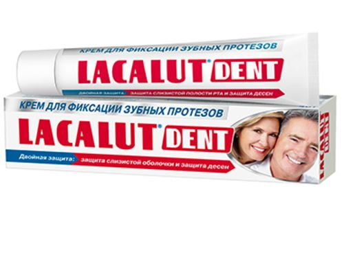 Фіксуючий крем Lacalut (Лакалут) Dent