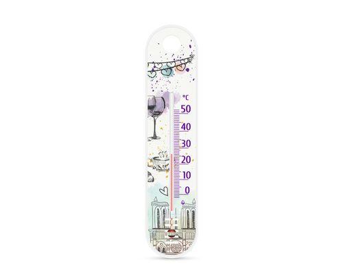 Термометр кімнатний Стеклоприбор Сувенір П-1 Париж-3