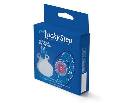 Вкладиш під плюсну силіконовий Lucky Step LS08
