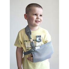 Бандаж Алком 3004k для підтримки руки (хустинка) р.2 дитячий, сірий
