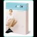 Гольфи компресійні жіночі Алком 5011 закритий мисок, 1 компресія р.3, бежеві