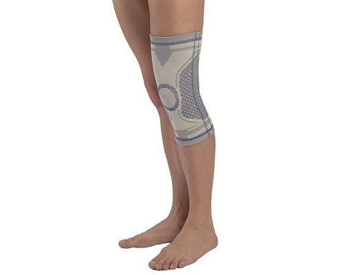 Бандаж на колінний суглоб з 2 ребрами жорсткості Алком 3021 Dynamics р.2