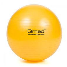 М'яч гімнастичний Qmed ABS GYM BALL КМ-13 жовтий
