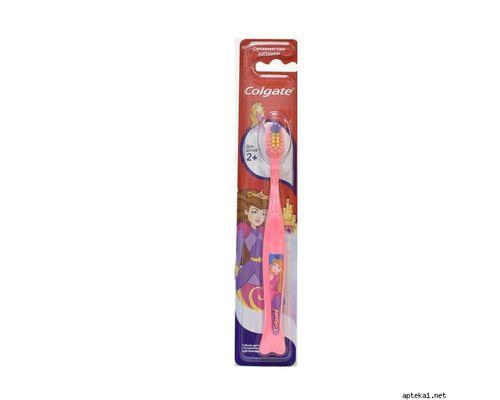 Зубна щітка Colgate (Колгейт) дитяча для дівчинки від 2+ років
