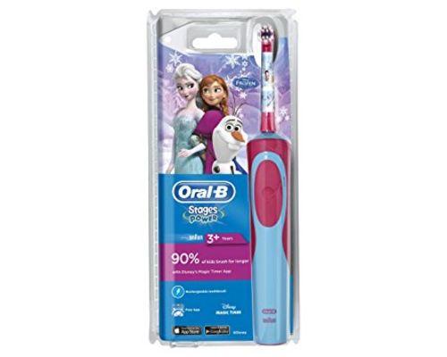Електрична зубна щітка Oral-B (Орал-В) Frozen дитяча від 3+