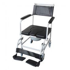 Крісло-каталка Рідні KJT707C з санітарним оснащенням