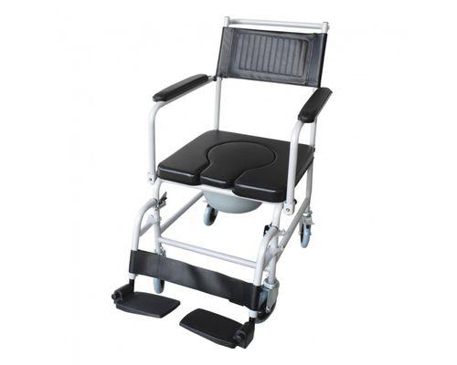 Крісло-каталка Ridni Care KJT707C з санітарним оснащенням