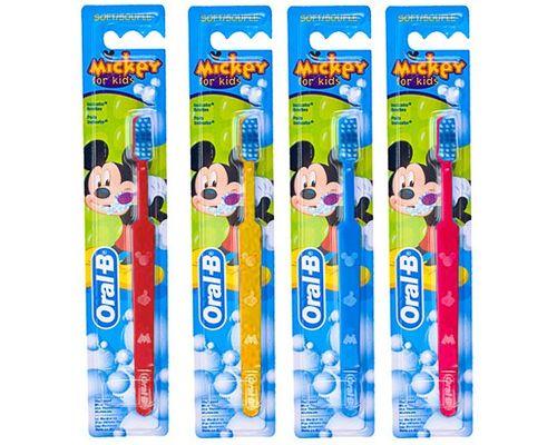 Зубна щітка Oral-B (Орал-В) Mickey 20 soft/м`яка