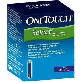 Тест-смужки OneTouch Select №50