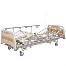 Ліжко медичне реанімаційне OSD-94U чотирьохсекційне з механічним приводом на колесах, з можливістю регулювання по висоті