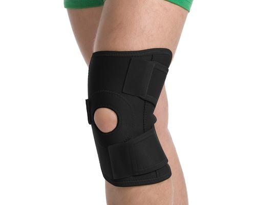 Бандаж на колінний суглоб роз'ємний MedTextile 6058 р.L/XL чорний