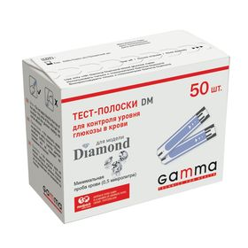Тест-смужки Gamma Diamond DM №50