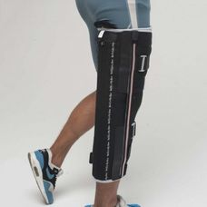 Бандаж (ортез) Алком 3013 на колінний суглоб р.2, чорний