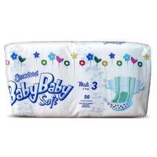 Підгузники BabyBaby Soft Standart Midi (4-9кг) р.3 №56