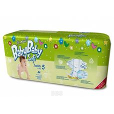 Підгузники BabyBaby Soft Premium Junior (11-25кг) р.5 №44