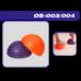 Напівсфера OrtoSport OS-004 фіолетова