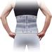 Корсет для спини з 4 ребрами жорсткості Ortop WB-604 р.XXL сірий