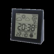 Термо-гігрометр цифровий з годинником Склоприлад Т-06