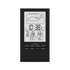 Термогігрометр цифровий з годинником Склоприлад Т-14