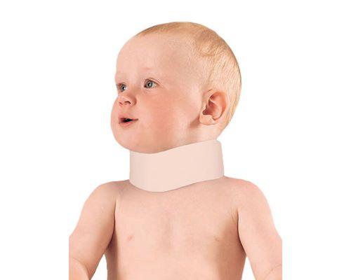 Бандаж дитячий на шийний відділ хребта м`якої фіксації MedTextile 1002 шина Шанца р.1