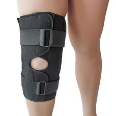 Бандаж (ортез) Алком 3052 на колінний суглоб р.4 чорний