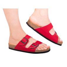 Анатомічні шльопанці Foot Care FA-301 р.38 червоні