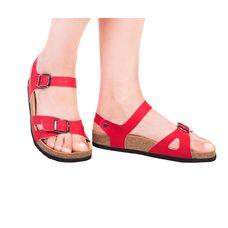 Анатомічні сандалі Foot Care FA-106 р.35 червоні