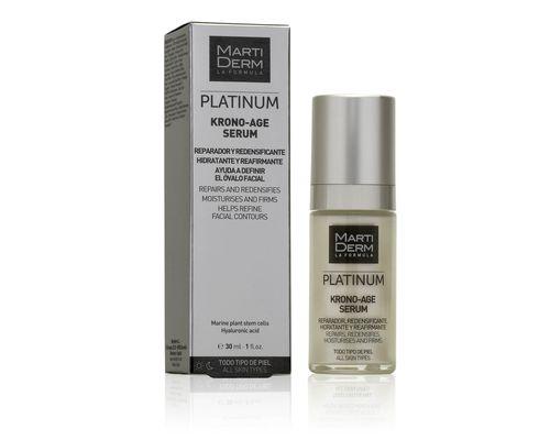 Сироватка для обличчя, шиї, зони декольте Martiderm Platinum Krono Age Serum для всіх типів шкіри 30 мл