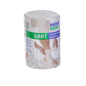 Бинт еластичний середньої розтяжності MedTextile 1мх8см