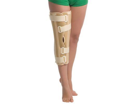 Бандаж (тутор) на колінний суглоб MedTextile 6112 р.XL/XXL бежевий