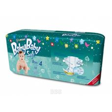 Підгузники BabyBaby Soft Premium Maxi (7-18кг) р.4 №50