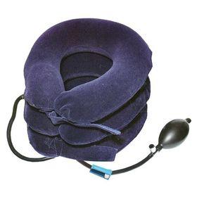 Комір шийний лікувальний трьох ходовий JS синій