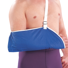 Бандаж Ortop EO-302 для підтримки руки, розмір універсальний, синій