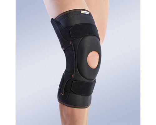 Ортез на колінний суглоб з поліцентричними шарнірами Orliman 7104 р.5 чорний