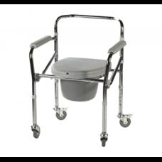 Крісло-стілець Діспомед СтД-03к, з колесами, складне