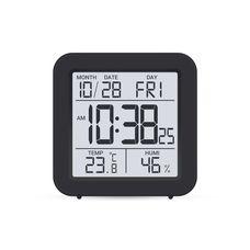 Термогігрометр цифровий з годинником Склоприлад Т-15