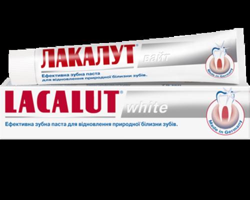 Зубна паста Lacalut (Лакалут) White 75мл