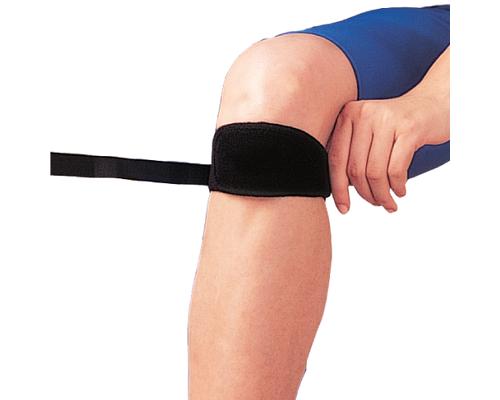 Бандаж на коліно пателярний з гелевими вставками Ortop NS-712 р.універсальний чорний